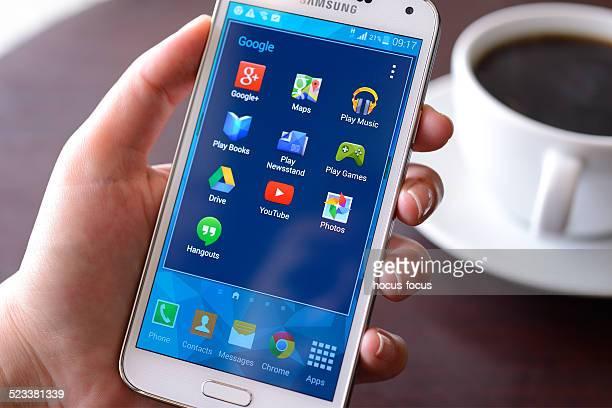 Galaxy Samsung S5 Téléphone mobile intelligent
