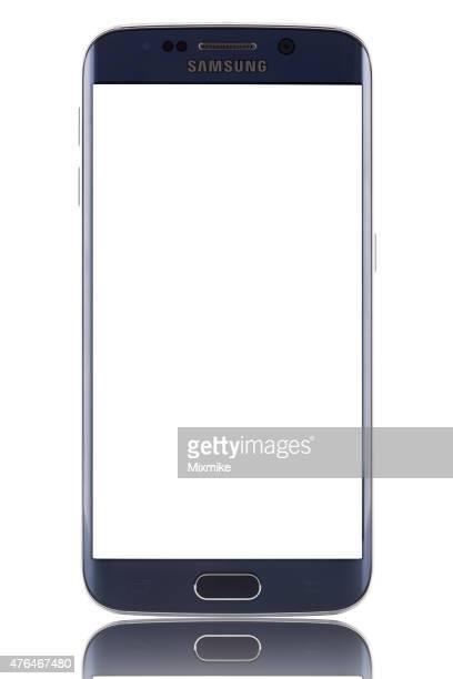 Samsung Galaxy S 6 エッジに空白の画面とクリッピングパス