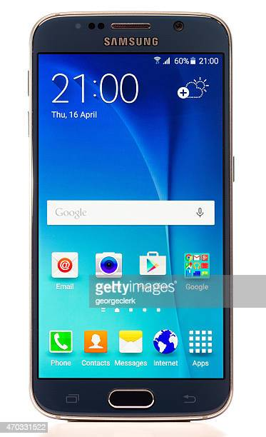 Samsung Galaxy S 6 のスマートフォン