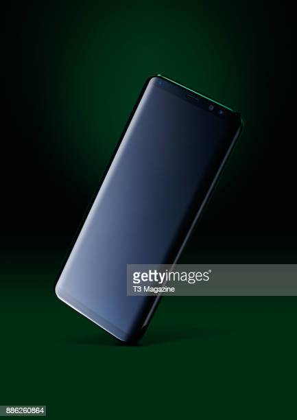 A Samsung Galaxy S8 smartphone taken on April 20 2017