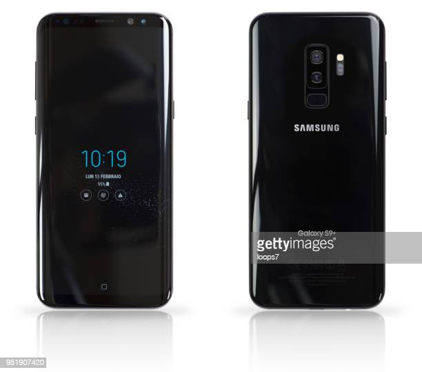 samsung galaxy s9 plus - plus key stock photos and pictures