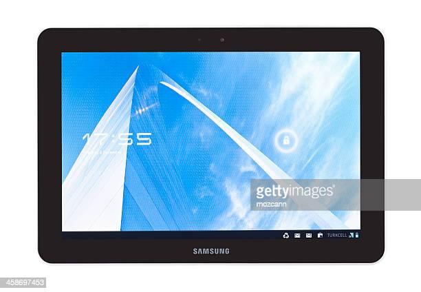 samsung galaxy tab 10.1 - samsung stock pictures, royalty-free photos & images