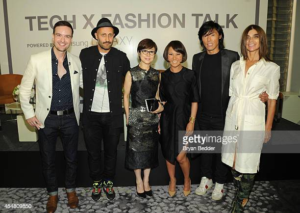 Samsung Head of Industrial Design Howard Nuk Diesel Licensing Creative Director Andrea Rosso Executive Vice President of Global Marketing for Samsung...