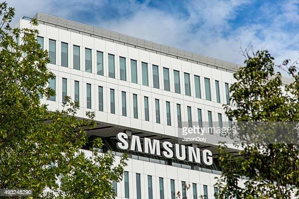 samsung 新しいのキャンパスで、サンホセ - ブランド サムスン ストックフォトと画像