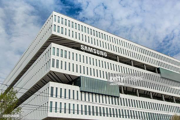 samsung nouveau campus de san jose - siège social photos et images de collection