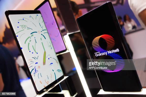Samsung on August 23 2017 in New Yorkunveiled a new model of its Galaxy Note as it seeks to leave behind the debacle over exploding batteries in the...