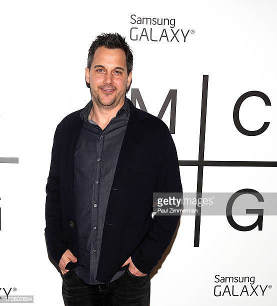 Samsung Telecommunications American Chief MarketingOfficer Todd Pendleton attends the 'Magna Carta Holy Grail' album release party at Pier 41 Liberty...