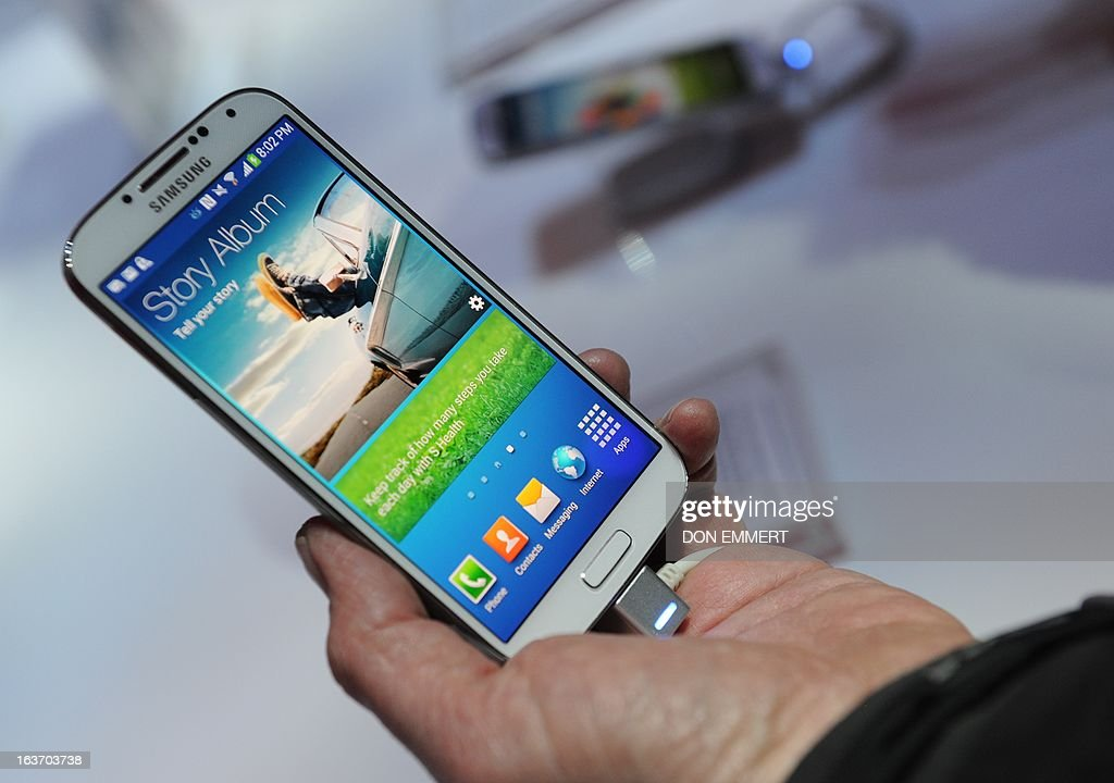 US-IT-Internet-telecom-SKorea-Samsung : News Photo