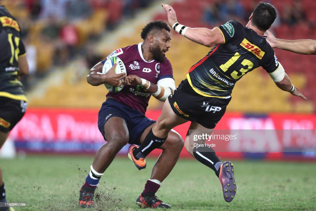 Super Rugby Rd 8 - Reds v Stormers : News Photo