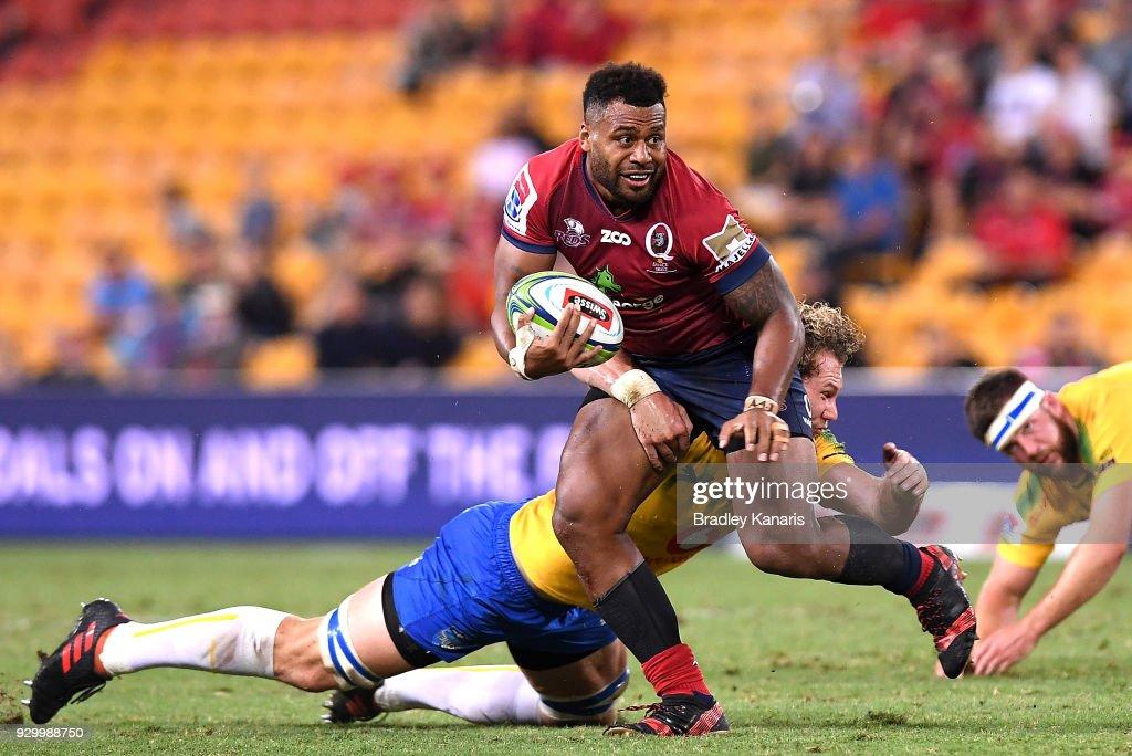 Super Rugby Rd 4 - Reds v Bulls : News Photo