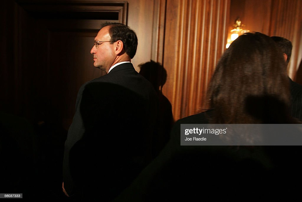 Supreme Court Nominee Samuel Alito Visits Capitol Hill