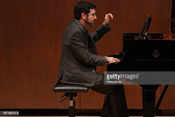 Samuel Adler 85th Birthday Tribute at Paul Hall at the Juilliard School on Monday night, October 28, 2013.This image:Michael Brown performing Samuel...