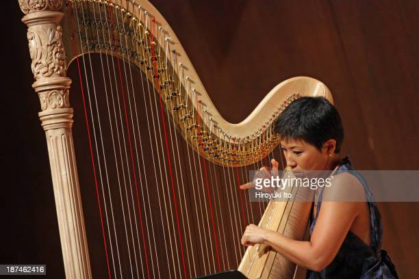 Samuel Adler 85th Birthday Tribute at Paul Hall at the Juilliard School on Monday night October 28 2013This imageJune Han performing Samuel Adler's...