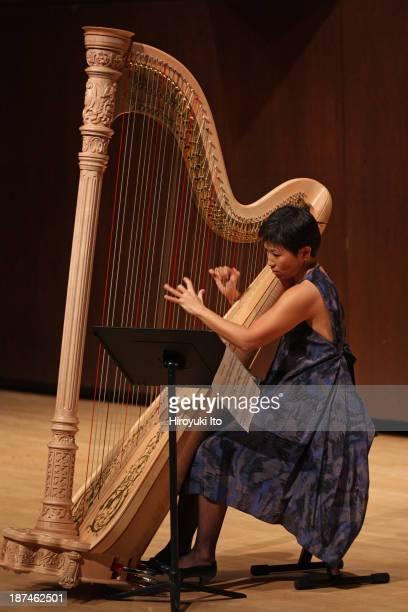Samuel Adler 85th Birthday Tribute at Paul Hall at the Juilliard School on Monday night October 28 2013This imageJune Han performing Samuel Adler's...