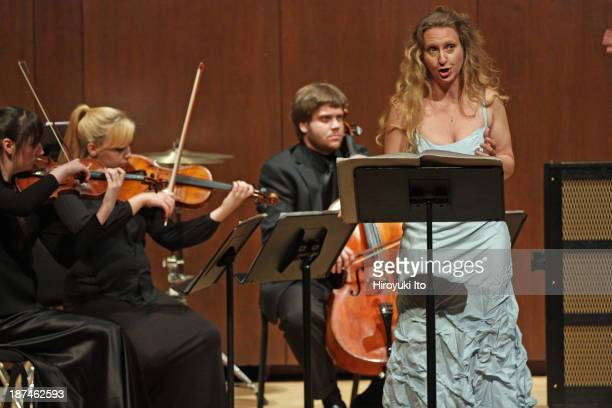 Samuel Adler 85th Birthday Tribute at Paul Hall at the Juilliard School on Monday night October 28 2013This imageThe mezzosoprano Re'ut BenZe'ev...