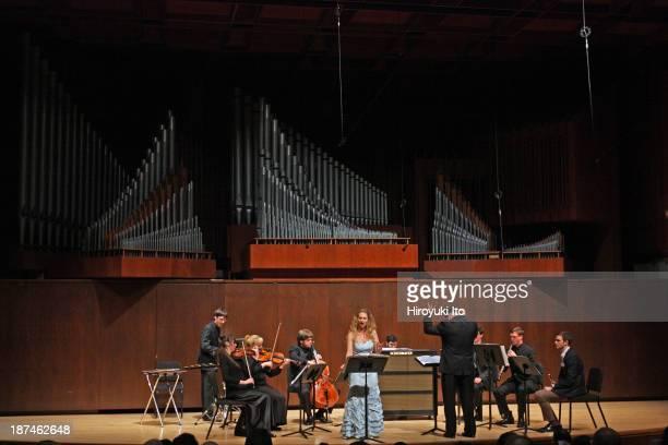 Samuel Adler 85th Birthday Tribute at Paul Hall at the Juilliard School on Monday night October 28 2013This imageThe mezzosoprano Re'ut BenZe'ev...