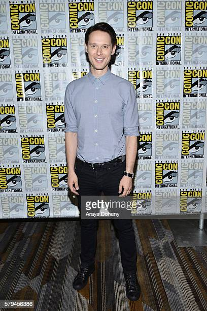 Samuel Barnett attends the Dirk Gently press line at Comic-Con International 2016 - Day 3 on July 23, 2016 in San Diego, California.