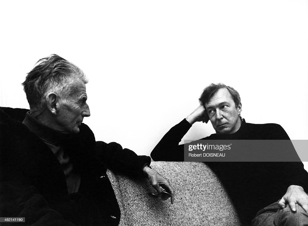 Samuel Beckett And Jasper Johns : News Photo