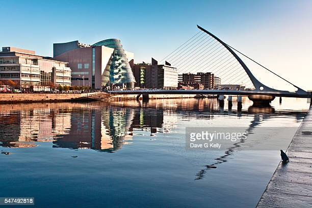 Samuel Beckett Bridge and Convention Centre, Dublin