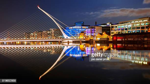 Samuel Beckett Bridge, Dublin, Ireland