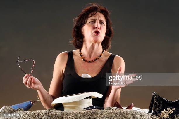 Samuel Beckett's 'Happy Days' directed by Deborah Warner at Bam Harvey Theater on Monday night January 7 2008CastFiona Shaw as Winnie