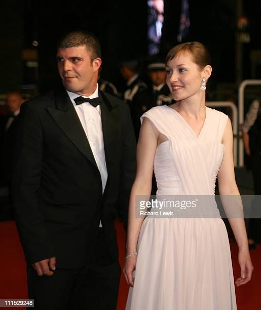 Samuel Boidin and Adelaide Leroux during 2006 Cannes Film Festival Flandres Premiere at Palais des Festival in Cannes France