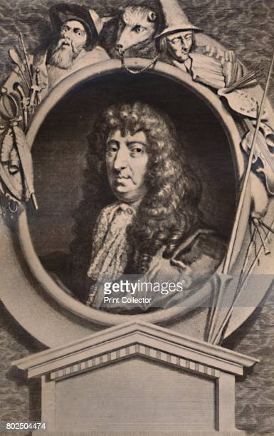 Samuel Butler English poet and satirist 18th century From A Collection of Engraved Portraits Exhibited by the Late James Anderson Rose at the Opening...