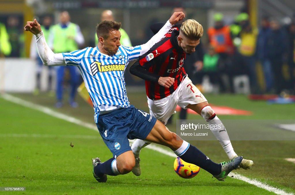 AC Milan v SPAL - Serie A : News Photo