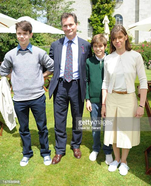 Samuel Chatto Daniel Chatto Arthur Chatto and Lady Sarah Chatto attend the Cartier Style Luxury Lunch at the Goodwood Festival of Speed on July 1...