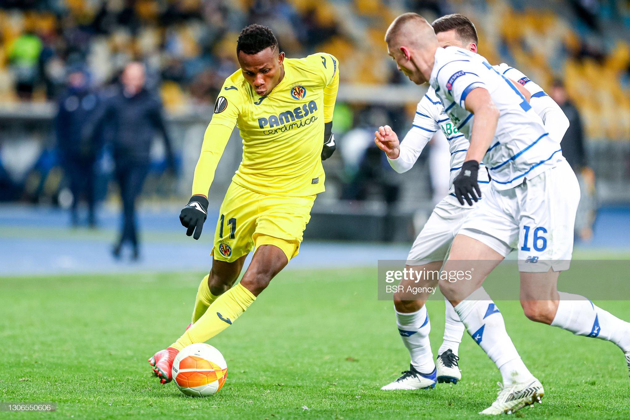 Dinamo Kiev v Villarreal - UEFA Europa League : News Photo