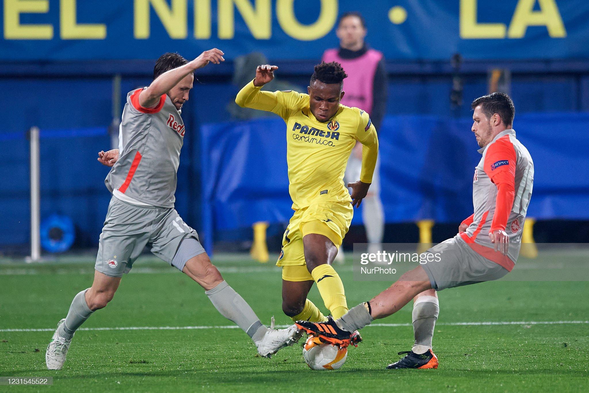 Villarreal CF v RB Salzburg  - UEFA Europa League Round Of 32 Leg Two : News Photo