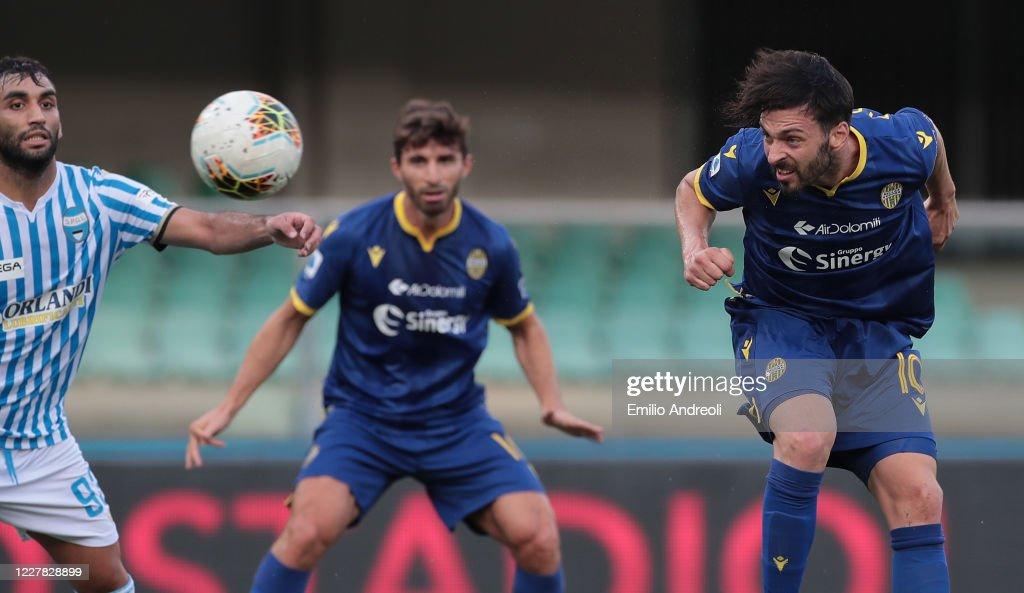 Hellas Verona v SPAL - Serie A : News Photo
