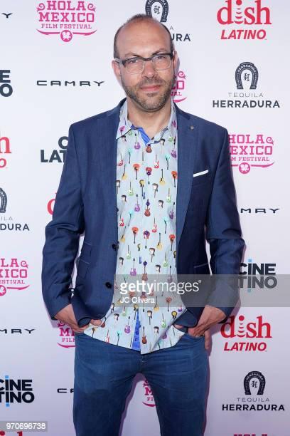 Samuel Douek Hola Mexico festival founder/director attends The HOLA Mexico Film Festival presented by DishLATINO closing night gala at LA Plaza de...