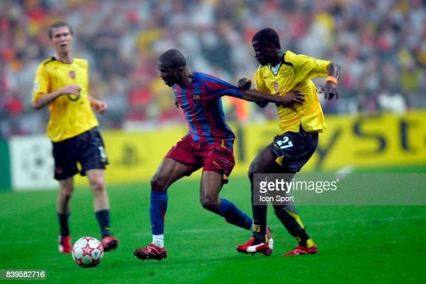 Samuel ETOO / Emmanuel EBOUE Fc Barcelone / Arsenal Finale de la Ligue des Champions Stade de France Paris