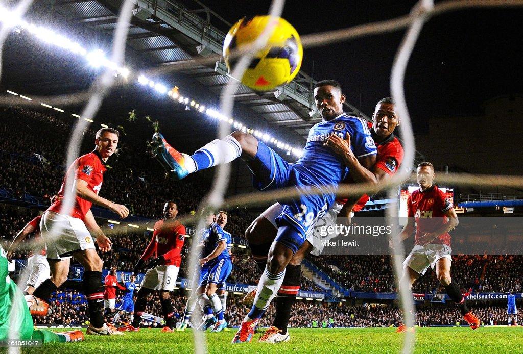 Chelsea v Manchester United - Premier League : Foto jornalística