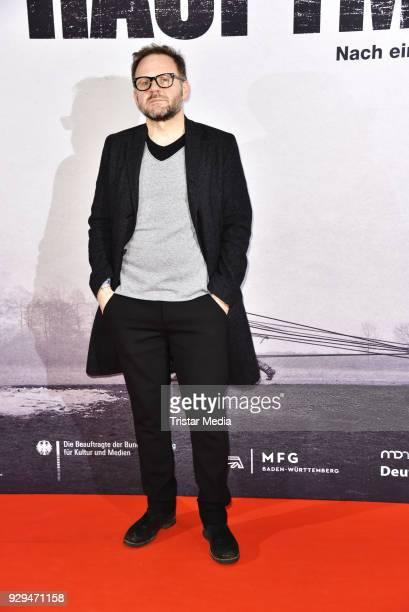 Samuel Finzi attends the premiere of 'Der Hauptmann' at Kino International on March 8 2018 in Berlin Germany