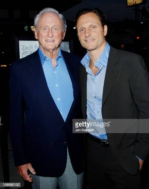 Samuel Goldwyn Jr and son Tony Goldwyn director during The Last Kiss Los Angeles Premiere Arrivals at Directors Guild of America in Los Angeles...