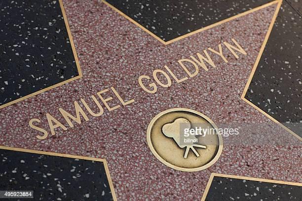 Samuel Goldwyn star on the Hollywood Walk of Fame