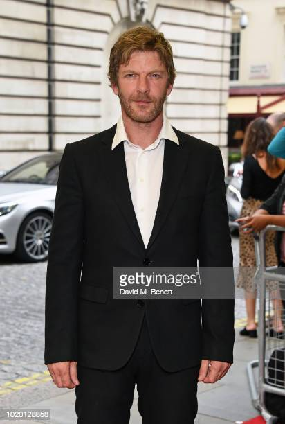 Samuel Hazeldine attends a special screening of 'The Innocents' at The Curzon Mayfair on August 20 2018 in London England