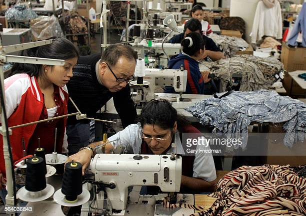 Samuel Hong is the owner of Holy Camp Clothing located in downtown Los Angeles Some of his employees receive minimum wage and Hong says a new minimum...