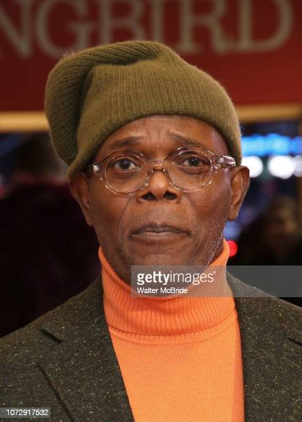 Samuel Jackson attends the Broadway Opening Night Performance of To Kill A Mockingbird on December 13 2018 at The Shubert Theatre in New York City