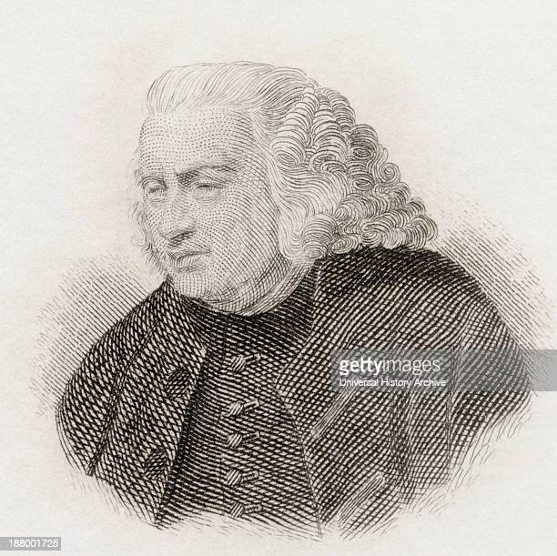 Samuel Johnson 1709 To 1784 British Author Poet Essayist Moralist Literary Critic Biographer Editor And Lexicographer From Crabb's Historical...