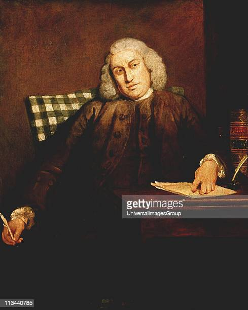Samuel Johnson English lexicographer critic and writer Portrait by J Reynolds