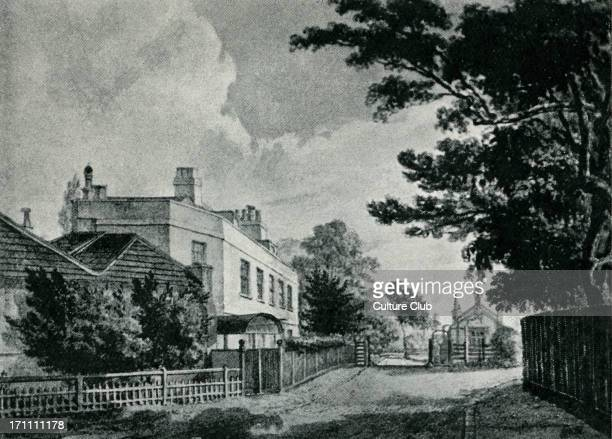 Samuel Johnson's lodging at Hampstead Where he wrote part of 'Vanity of Human Wishes' SJ English essayist biographer lexicographer and critic of...