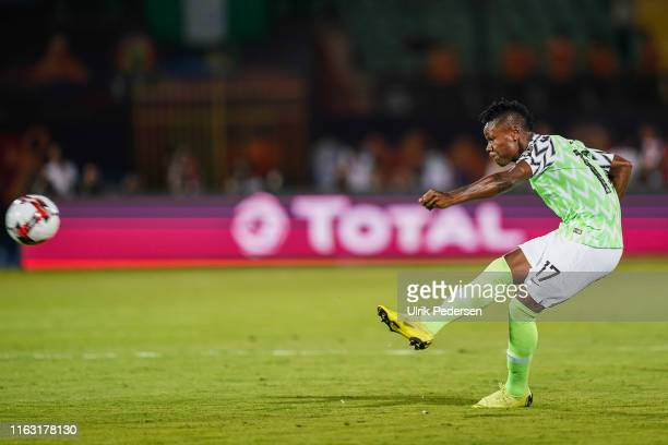 Samuel Kalu ojim of Nigeria during the 3rd place African Nations Cup match between Tunisia and Nigeria on 14th July 2019. Photo : Ulrik Pedersen /...