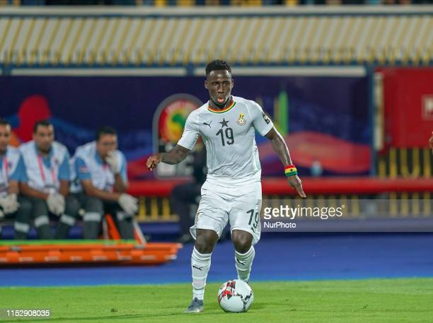 Samuel Kwame owusu of Ghana during the 2019 African Cup of Nations match between Benin and Guinea-Bissau at the Ismailia stadium in Ismailia, Egypt...