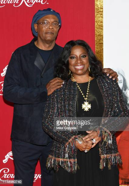 Samuel L Jackson and LaTanya Richardson attend the Shaft premiere at AMC Lincoln Square Theater on June 10 2019 in New York City
