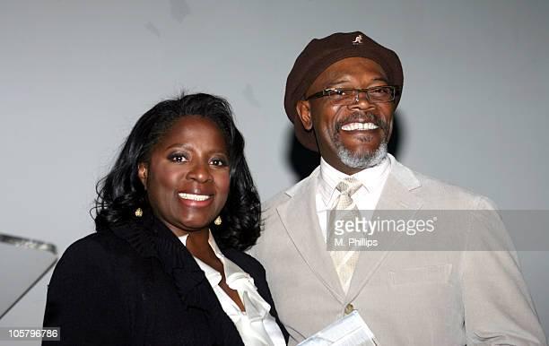 Samuel L Jackson and LaTanya Richardson receives the Hollywood Legacy Family Award
