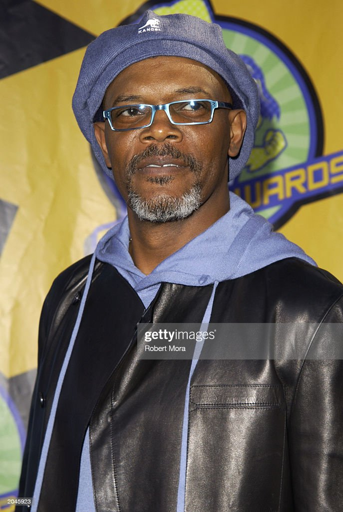 Samuel L. Jackson attends The 2003 MTV Movie Awards held at the Shrine Auditorium on May 31, 2003 in Los Angeles, California.