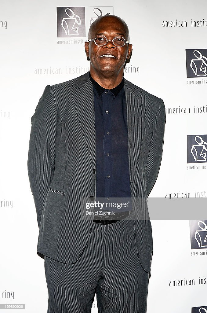 Samuel L. Jackson attends the 7th Annual 'Freeing Voices, Changing Lives' Benefit Gala at Tribeca Rooftop on June 3, 2013 in New York City.
